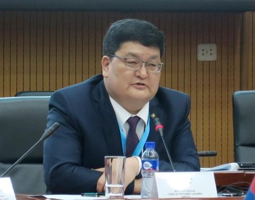 오드바야르 도르지 몽골 헌법재판소장