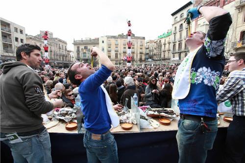 매년 1월 발스에서 열리는 칼솟타다 축제