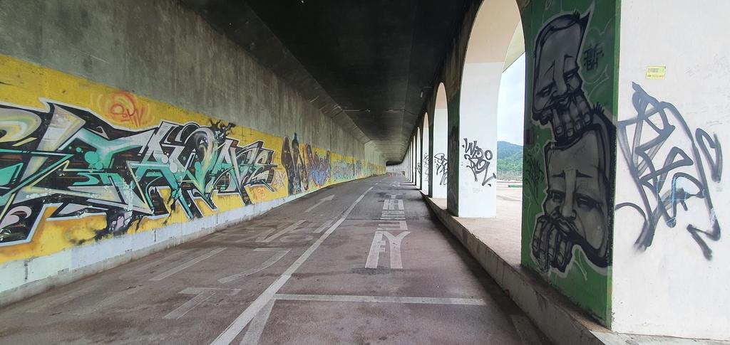 옛 강촌역 주변 피암터널