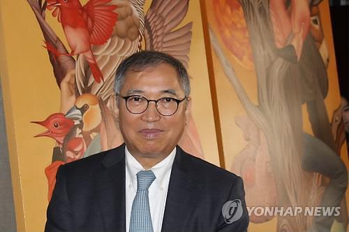 황달성 신임 한국화랑협회장 [연합뉴스 자료사진]