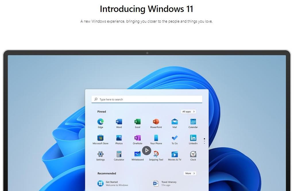 마이크로소프트의 윈도 11