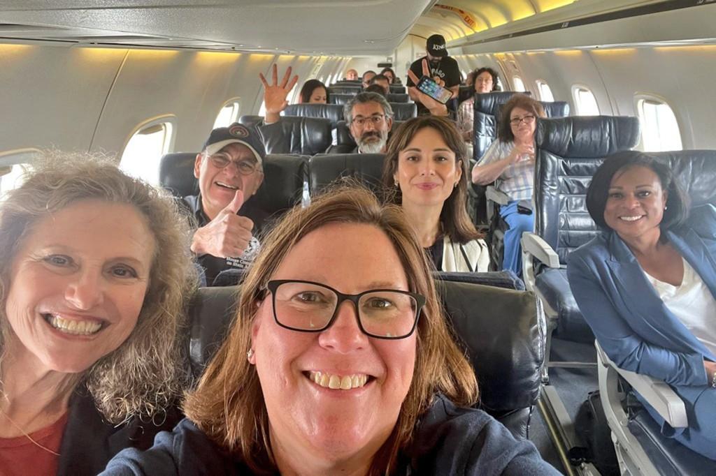 [트위터 캡처] 단체로 워싱턴DC로 떠나는 텍사스주 민주당 의원들