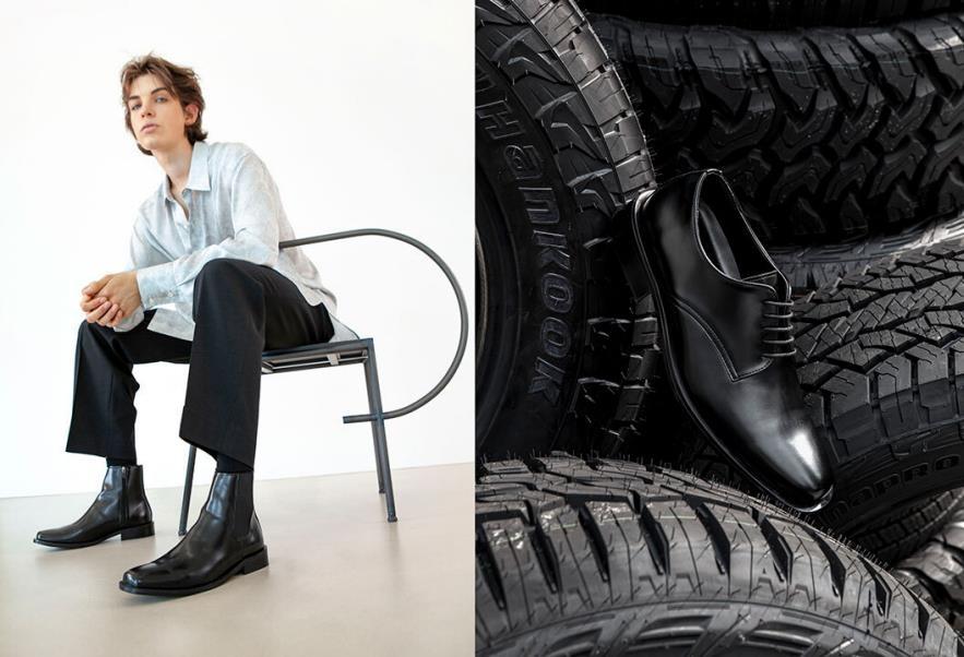 한국타이어, 슈즈 브랜드 '야세'와 폐타이어로 제작한 신발 출시