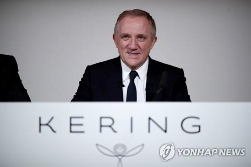 프랑수아앙리 피노 케링 회장 겸 최고경영자(CEO)