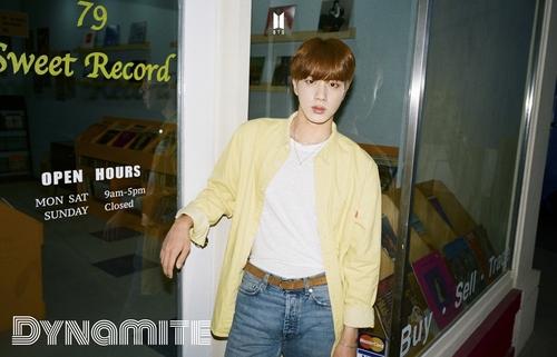 Jin de BTS lanza su nueva canción en solitario 'Abyss' en SoundCloud | AGENCIA DE NOTICIAS YONHAP