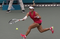 Korean-American tennis player hoping to use career to influence others