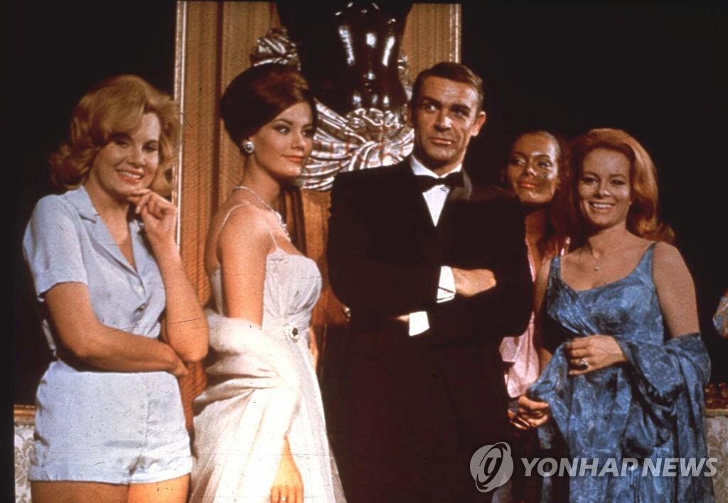 '007 시리즈'에서 제임스 본드 역할을 맡았던 숀 코너리 [AP=연합뉴스]