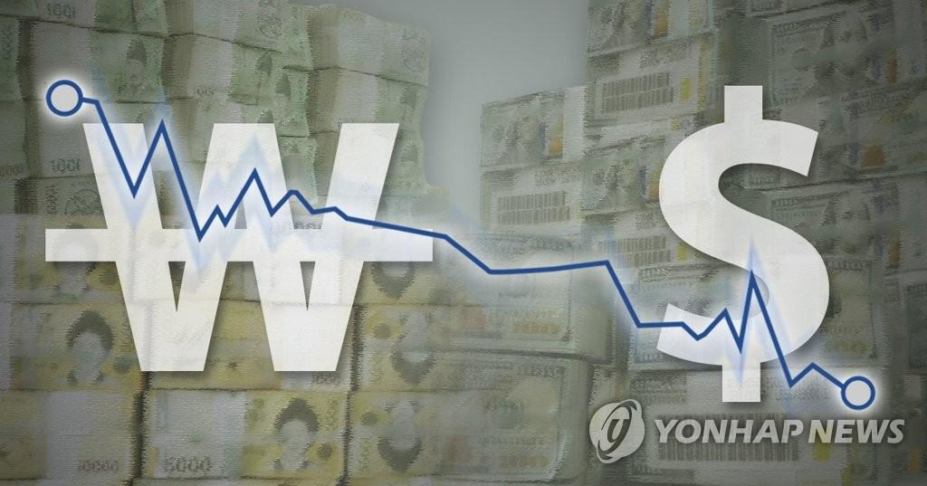 미중 무역갈등 완화 조짐에 원/달러 환율 하락