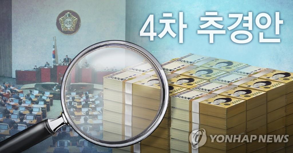 국회 4차 추경안 심사 (PG)