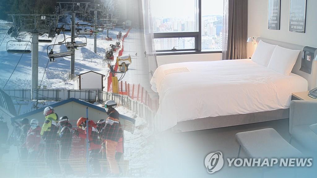해돋이 명소·스키장 연말연시 폐쇄 (CG)