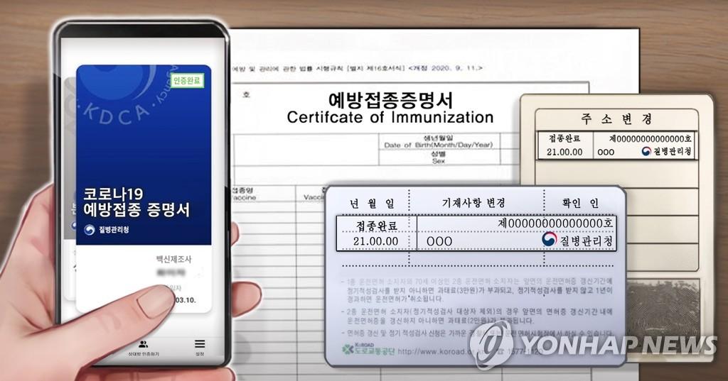 예방접종 증명서 (PG)