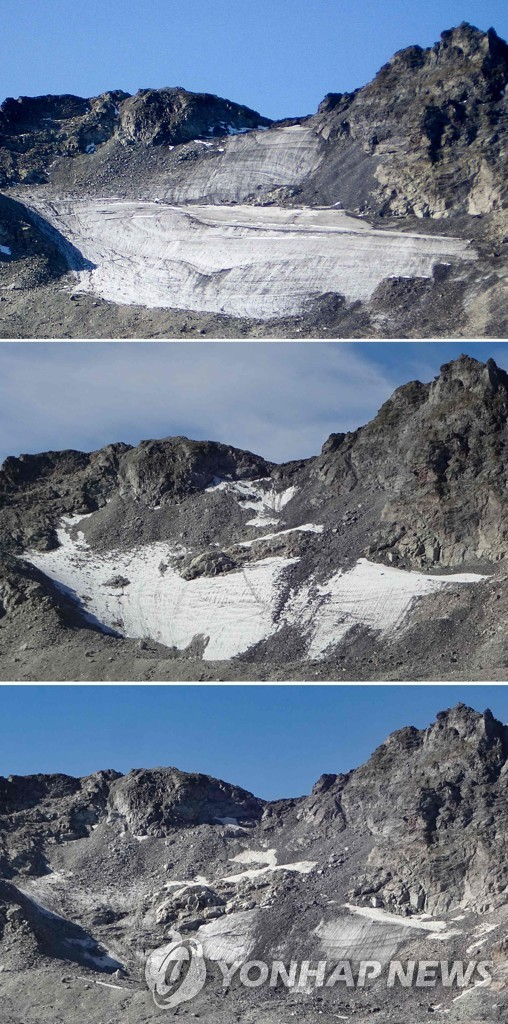 COMBO-SWITZERLAND-ENVIRONMENT-CLIMATE-GLACIER-MOUNTAIN