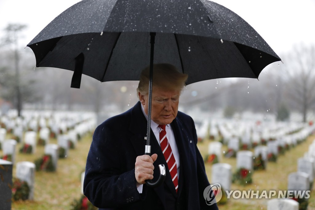 USA TRUMP ARLINGTON CEMETERY