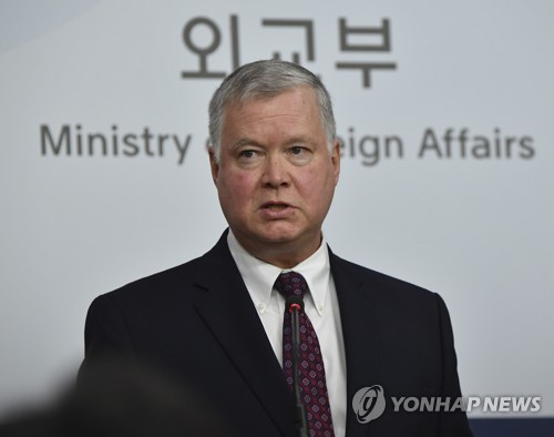 (LEAD) Trump-Kim summit unlikely before U.S. presidential election: U.S. envoy