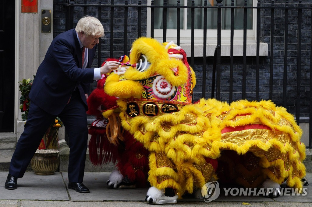 BRITAIN CHINA LUNAR NEW YEAR