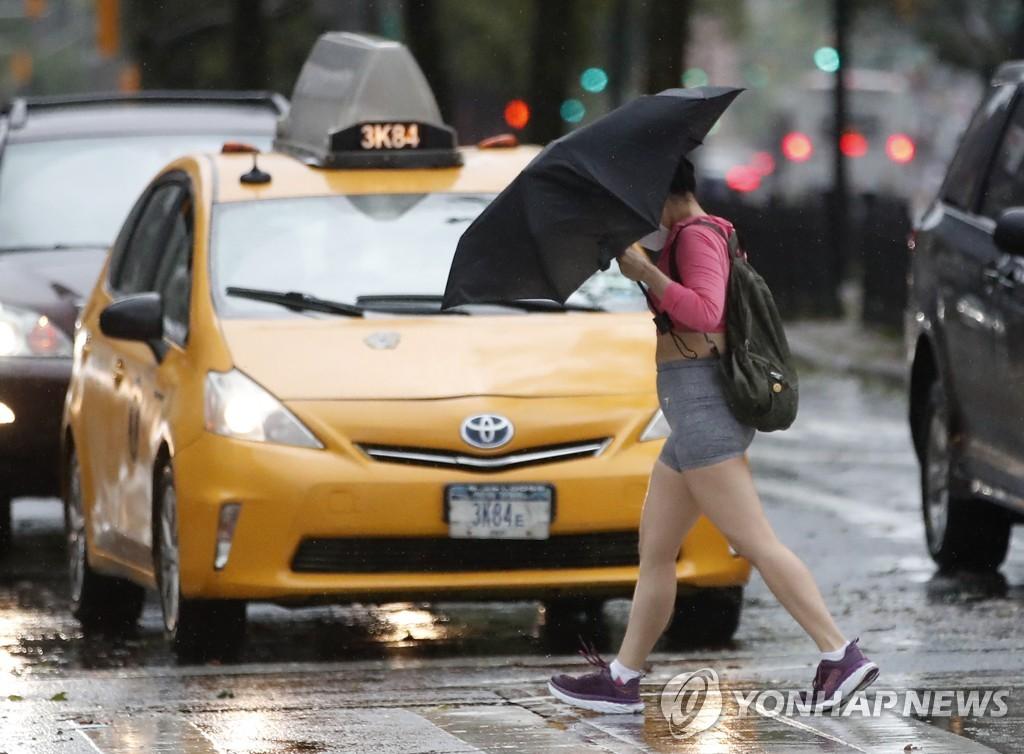 [EPA=연합뉴스 자료사진] 뉴욕의 택시