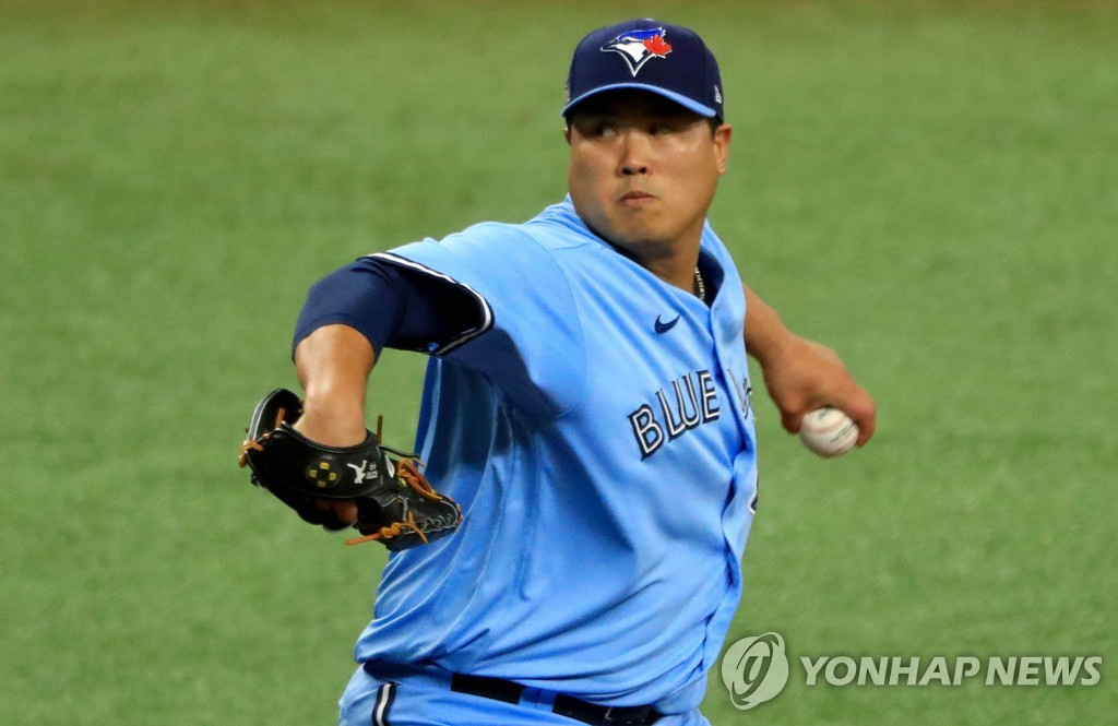(LEAD) Ryu Hyun-jin's successful 1st season with Blue Jays ends with postseason elimination