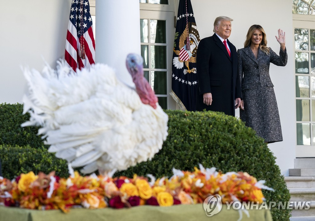 TRUMP TURKEY PARDONING