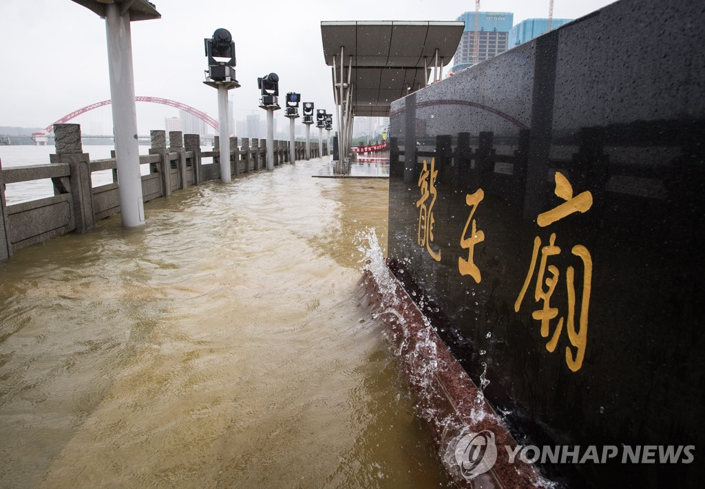 CHINA-HUBEI-WUHAN-EMERGENCY RESPONSE-FLOOD CONTROL-UPGRADE (CN)