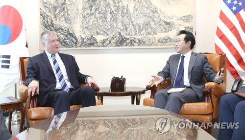 U.S. envoy on N. Korea Biegun to visit Seoul this week