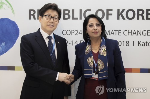 Environment chiefs of Korea, Algeria meet