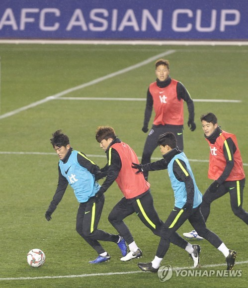 Prepping for Asian Cup