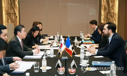 S. Korea-France economic meeting