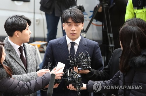 (LEAD) BIGBANG's Seungri grilled over sex-for-favors allegations