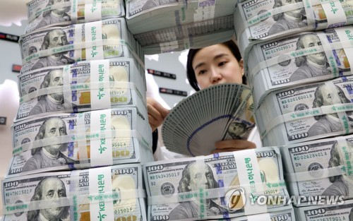S. Korea's foreign currency deposits rise in Sept.