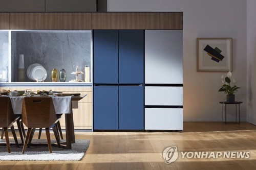 Samsung unveils stylish, customizable refrigerators