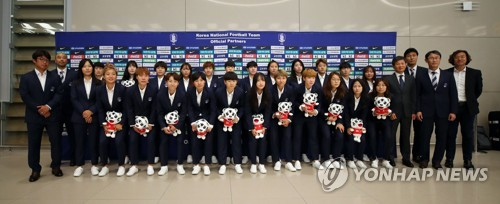 Women's football team returns from World Cup