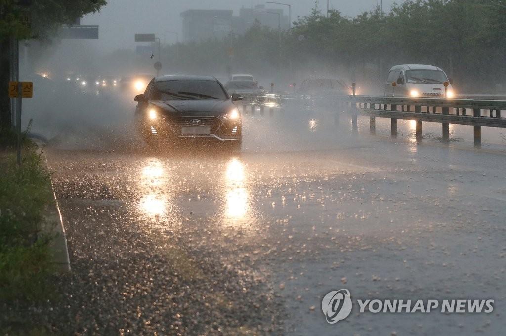 울산 호우주의보…오후까지 최대 100㎜ | 연합뉴스