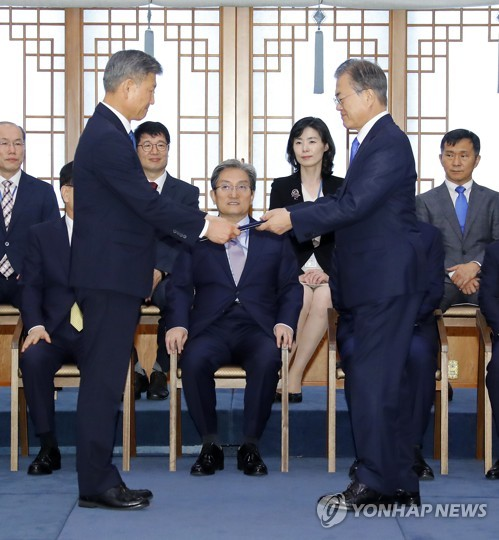 Moon cites veterans affairs as driving force of national unity
