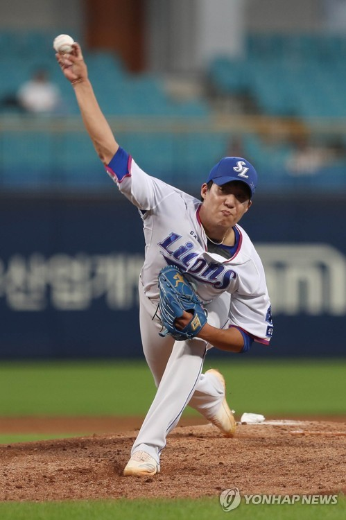 Samsung Lions take on Doosan Bears