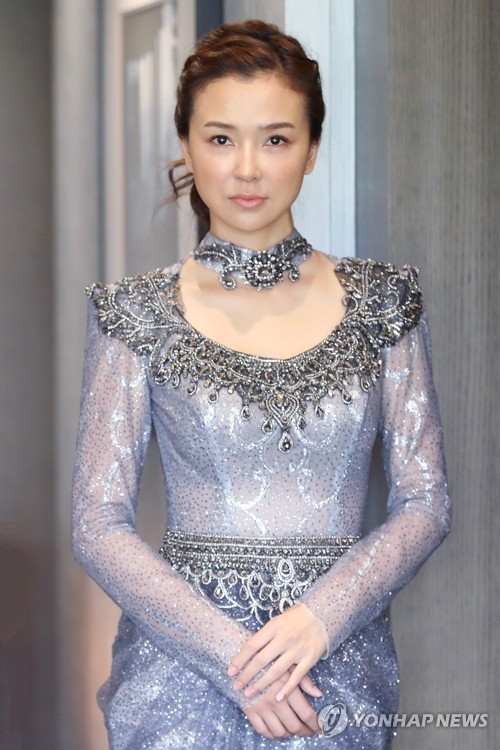 Chinese actress in Seoul