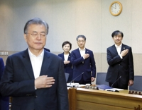 Moon's approval rating hits lowest amid Cho Kuk controversy
