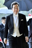 (5th LD) PM Lee attends Japanese emperor's enthronement event amid frayed ties with Tokyo