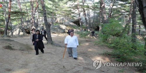 N.K. has 'unwavering will' to develop its own tourist zone at Mt. Kumgang: propaganda outlet
