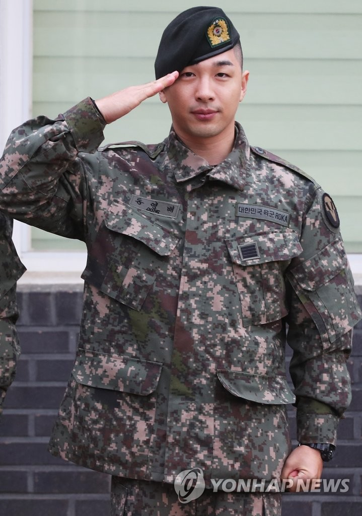 Taeyang discharged from military