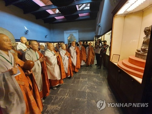 S. Korean Buddhist leader in Pakistan