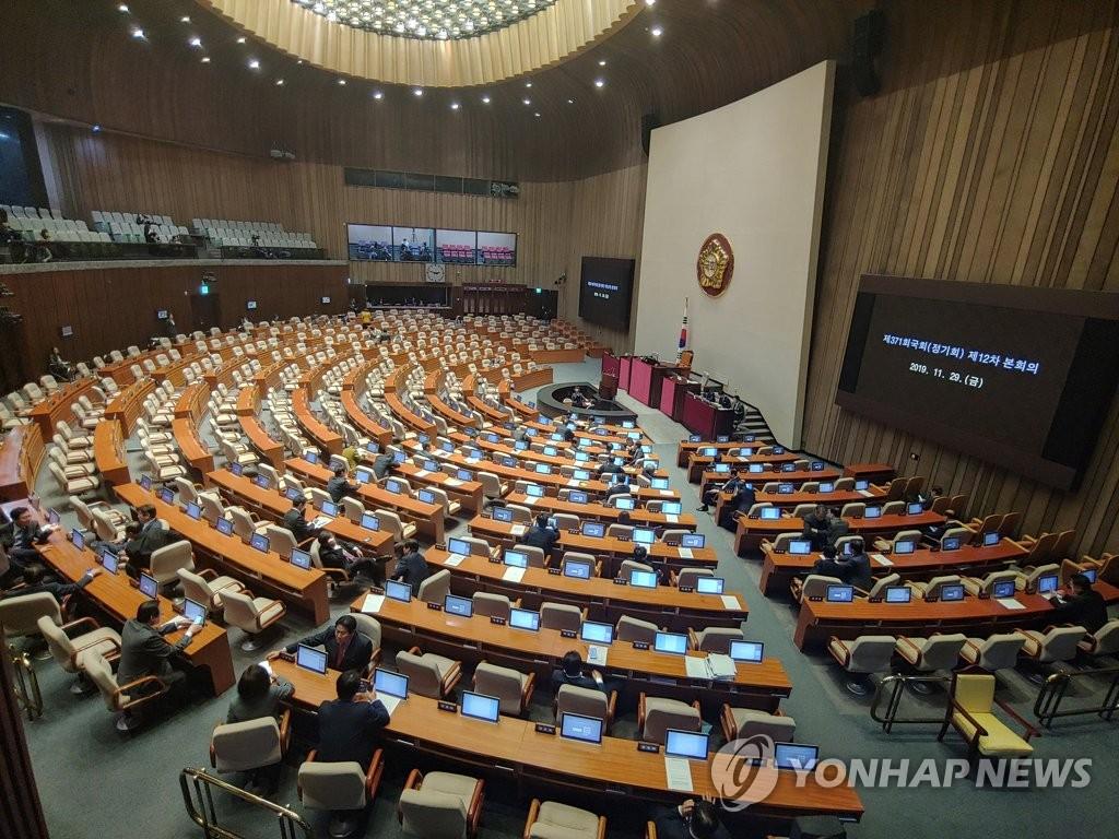 한국당 필리버스터 신청 영향, 열리지 못하는 본회의