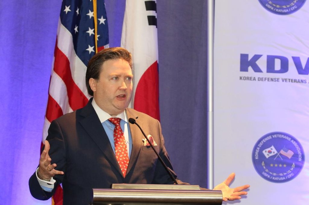 This file photo shows U.S. Deputy Assistant Secretary of State for Korea and Japan Marc Knapper. (Yonhap)