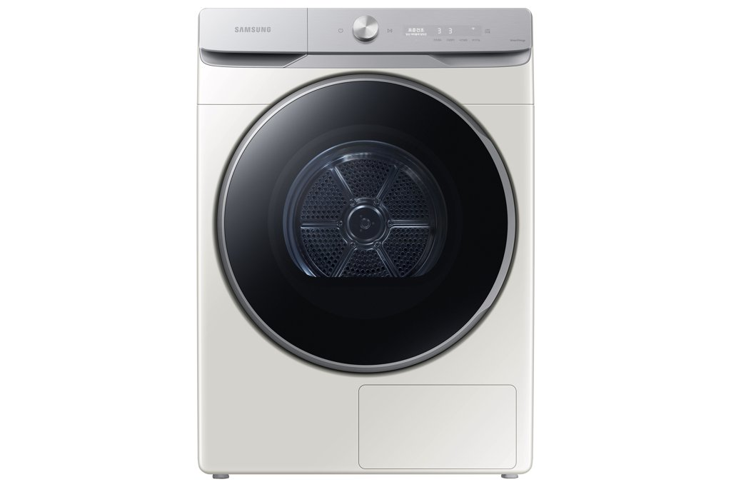 This photo provided by Samsung Electronics Co. on March 1, 2020, shows the company's Grande AI clothes dryer. (PHOTO NOT FOR SALE) (Yonhap)