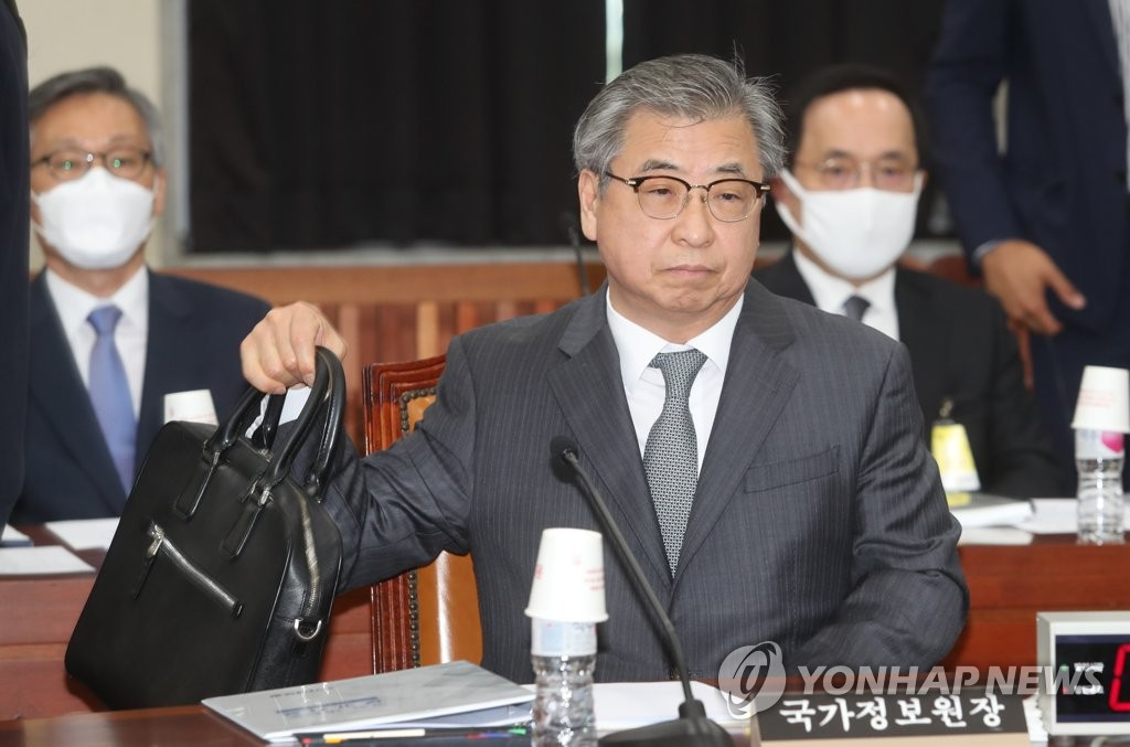 This file photo shows Suh Hoon, new director of national security at Cheong Wa Dae. (Yonhap)