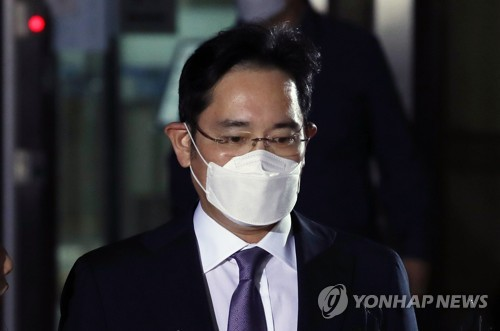 (LEAD) Samsung heir wins public backing in legal battle, but uncertainty remains