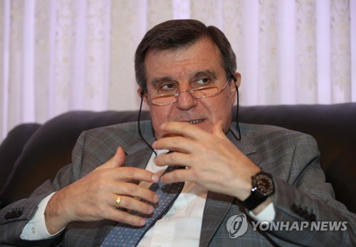 (LEAD) (Yonhap Interview) Russian Amb. Kulik calls for economic engagement with N.K. toward peace, trust