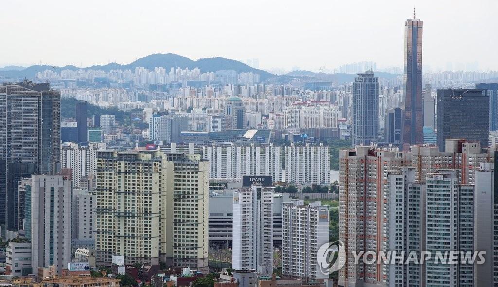 서울 용산과 여의도 일대 아파트 단지 모습