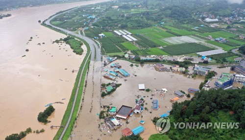At least 30 killed due to weeklong heavy downpours; further heavy rain in store on typhoon