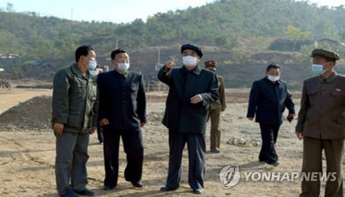 Top N.K. official inspects power plant, mine