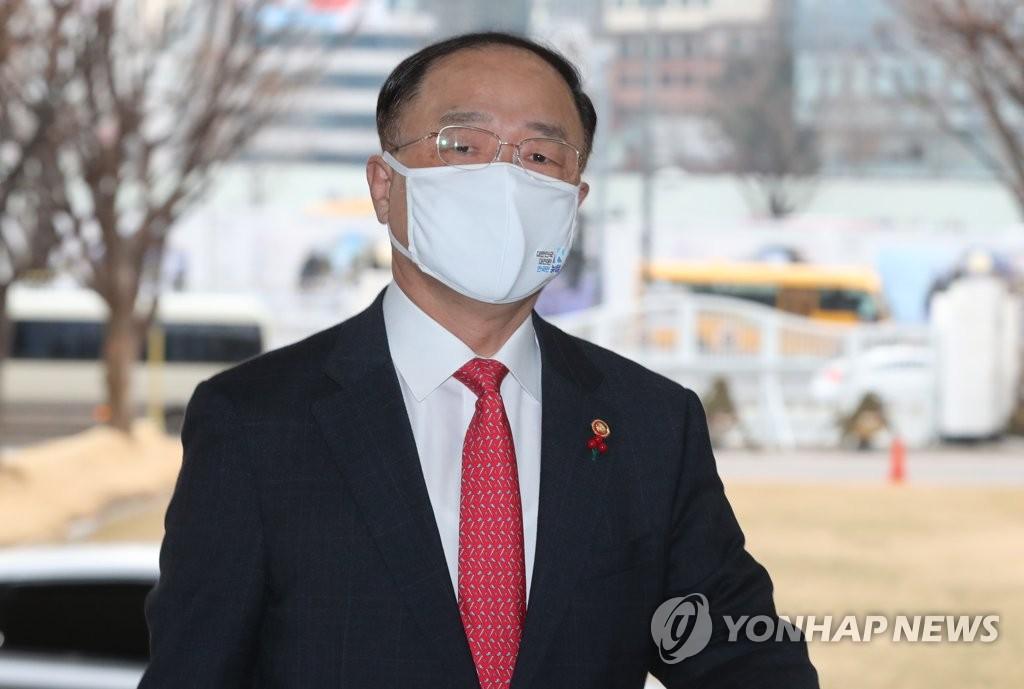 홍남기 경제부총리 겸 기획재정부 장관. [연합뉴스 자료사진]
